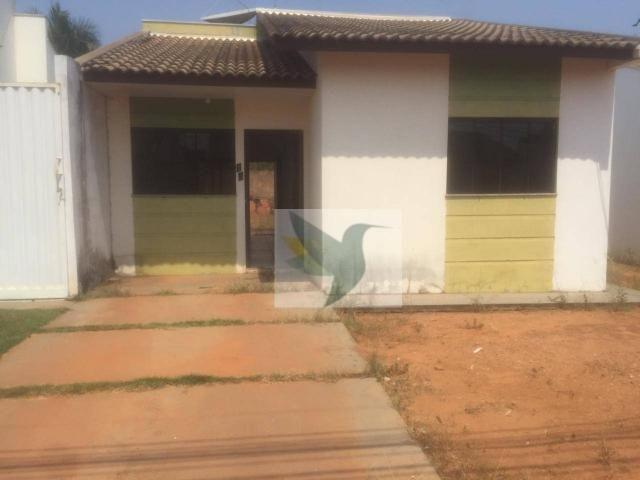 Casa com 2 dormitórios para alugar, 60 m² por r$ 650/mês - cascata