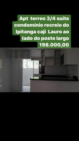 3/4 terreo com suite Condômino rua principal 199.000,00