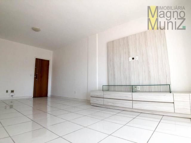 Apartamento projetado com 3 dormitórios, 2 vagas, à venda, 110 m², por r$ 275.000 - papicu - Foto 3