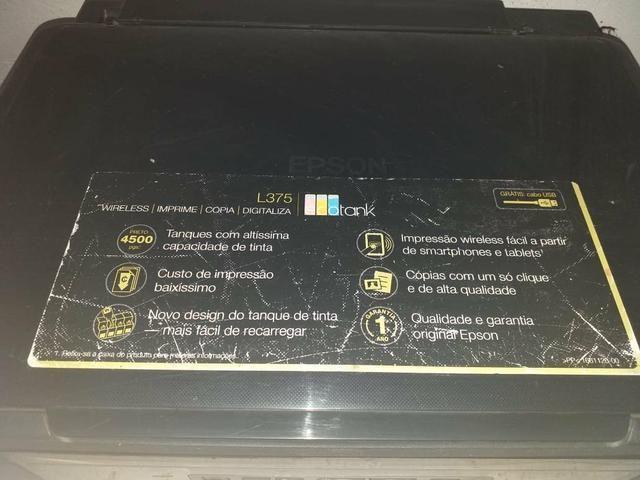 Prensa pra Sublimação, 8x1 e mais uma Impressora pra tintas sublimaticas Epson - Foto 5
