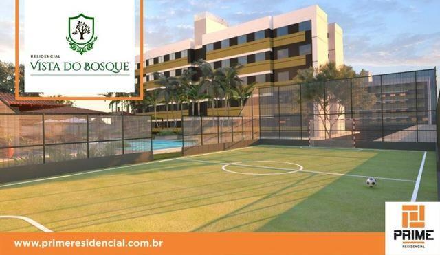 Ap de 2 quartos com suite reversível e quintal, Mario Covas- Vista do Bosque - Foto 11