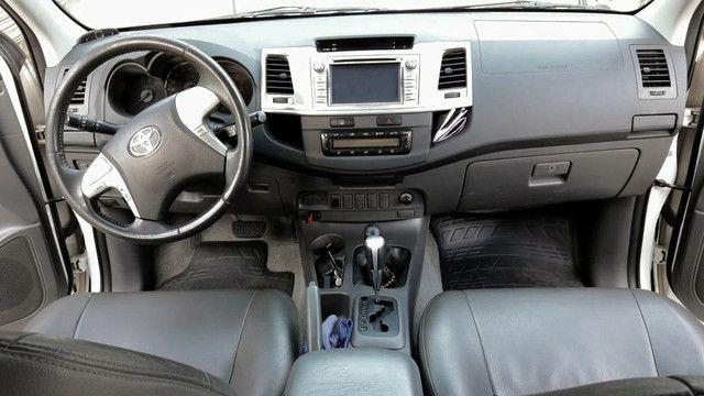 Vende-se Hilux 2012 SRV com todos opcionais e pouco rodada  - Foto 4