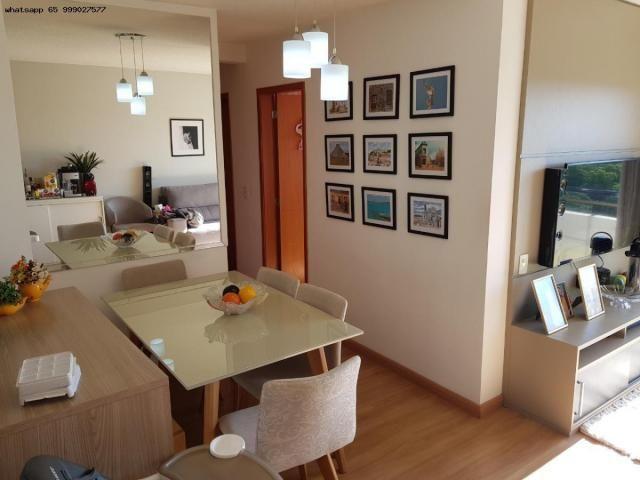 Apartamento para Venda em Cuiabá, Boa Esperança, 3 dormitórios, 1 suíte, 2 banheiros, 2 va - Foto 4