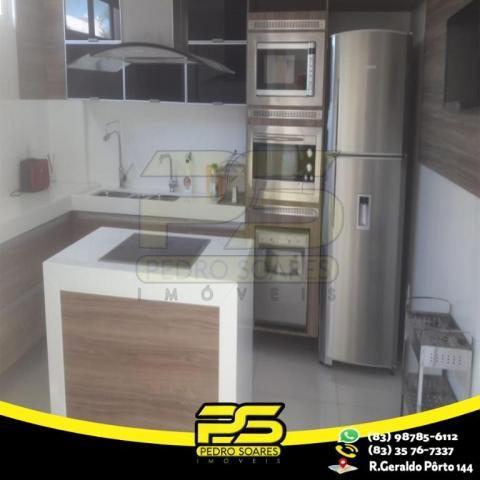 Casa com 4 dormitórios à venda, 460 m² por R$ 2.200.000,00 - Altiplano Cabo Branco - João  - Foto 9