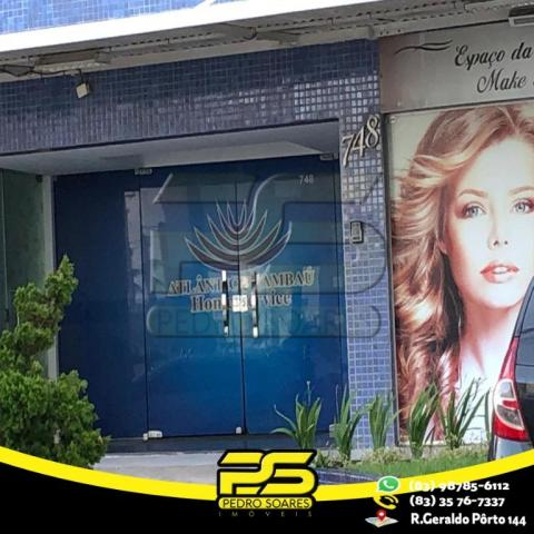 Flat com 1 dormitório para alugar, 1 m² por R$ 2.200,00/mês - Tambaú - João Pessoa/PB - Foto 8