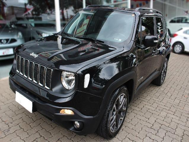 Jeep Renegade 1.8 Longitude 16V Flex 4P Completo Automático- Ano 2019*Aceito Troca
