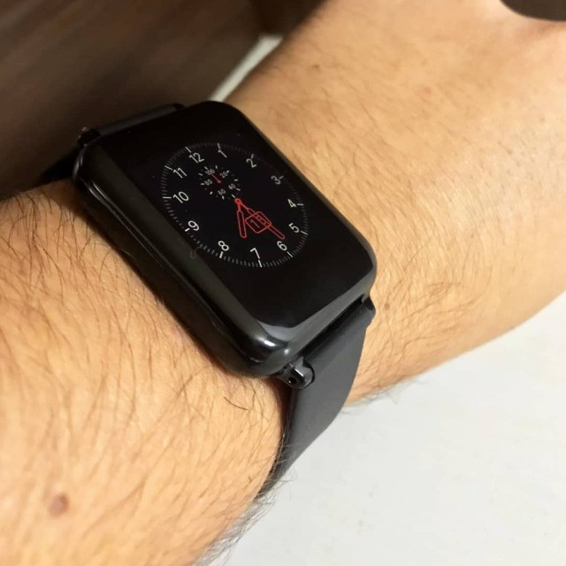 Smartwatch B57 Relógio Inteligente Hero Band 3 Fitness Smart - Foto 3