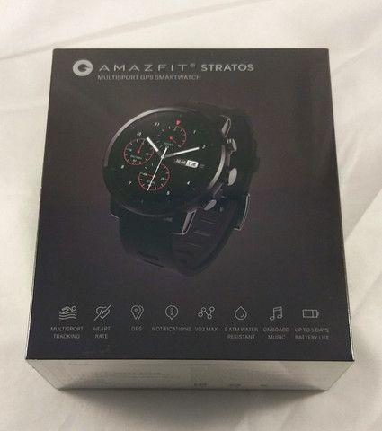 Smartwatch Amazfit Stratos 2 - Novo. Lacrado na caixa - Foto 5
