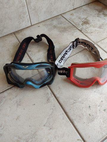 Bota de Trilha, colete,oculos,bota 41 e varias peças preço unico - Foto 9