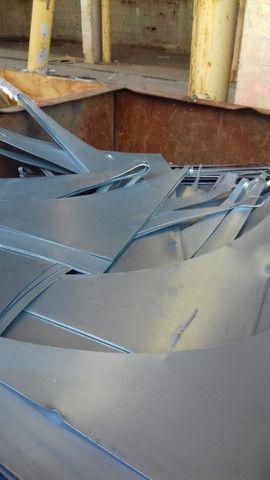 Chapa fina zincada Pontas e Retalhos de chapa zincada, Retalhos, Blank e Bobina - Foto 5