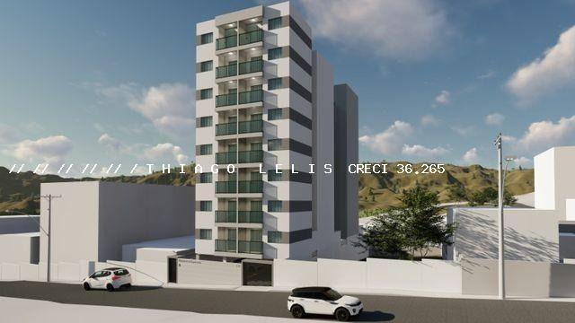 Bairro Bandeirantes lançamento lindo apartamento de 2 quartos suíte varanda elevador - Foto 2