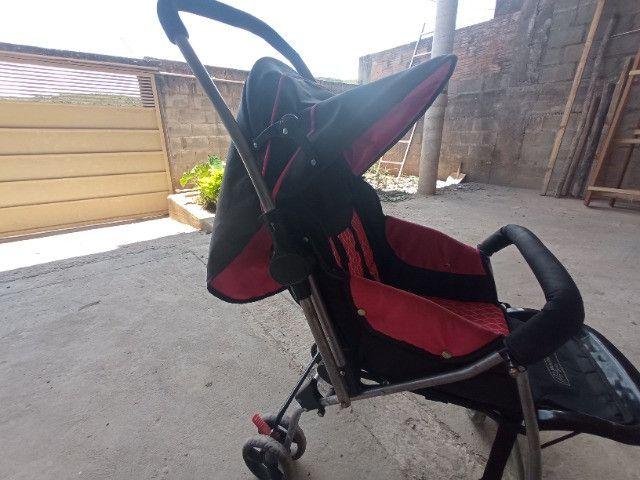 Carrinho De Bebê Flip Multikids até 15Kg