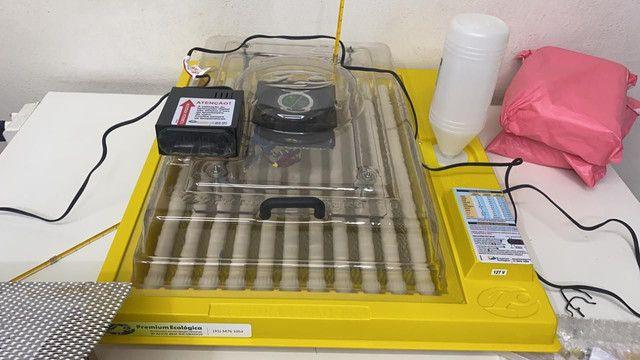 Vende chocadeira de 130 e 70 ovos novas  - Foto 4