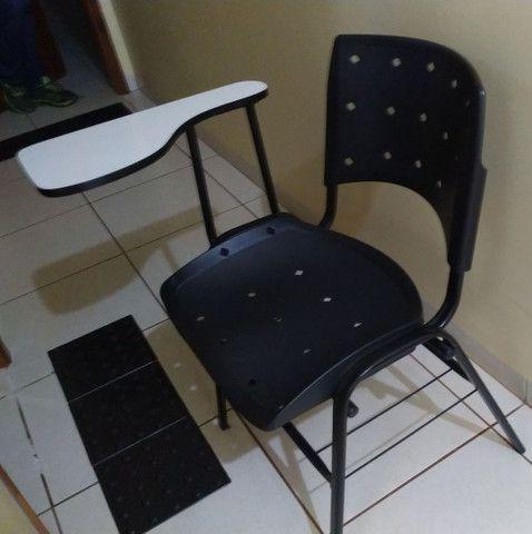 75 cadeiras universitárias/escolares - Foto 3