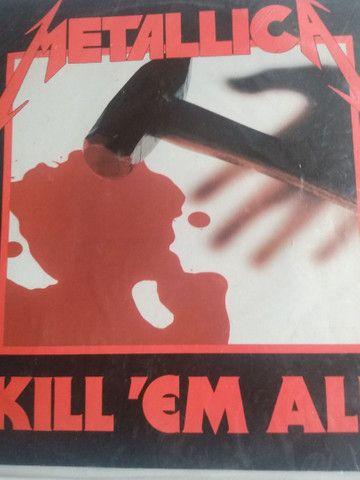 Vendo 3 discos de vinil Metallica - Foto 3