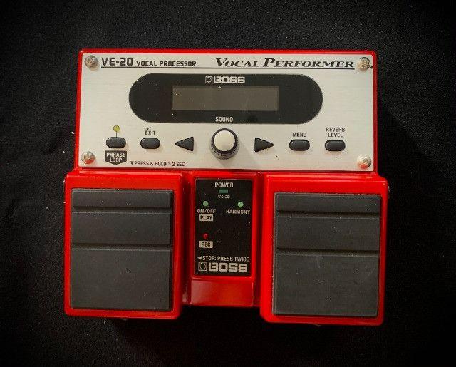 Pedal de Voz Vocal Processor ve 20 Boss