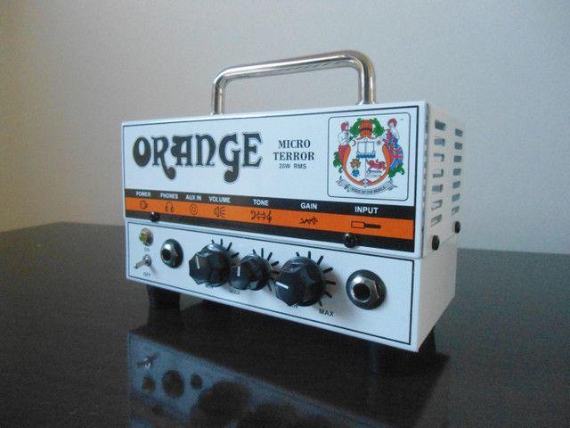 Cabeçote pre valvulado Orange Micro Terror