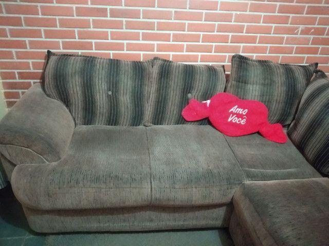 Sofá  com menos de 2 anos de uso? - Foto 2