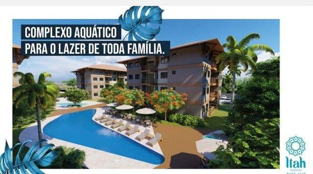 Flat com 2 dormitórios à venda, 56 m², térreo por R$ 630.000 - Praia Muro Alto, piscinas n - Foto 9