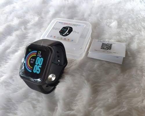 Smartwatch D20 Preto