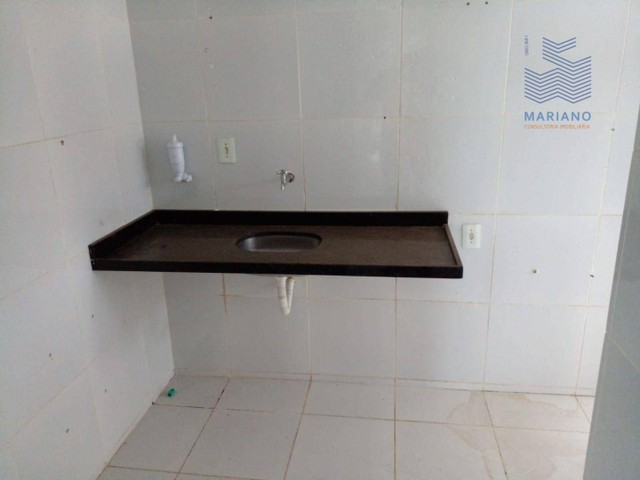 Apartamento com 3 dormitórios para alugar, 75 m² por R$ 1.100/mês - Jardim Cidade Universi - Foto 8