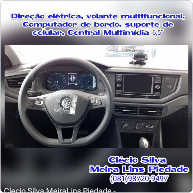 Virtus MSI 1.6 21/21 R$78.990,00 CLÉCIO SILVA  - Foto 9