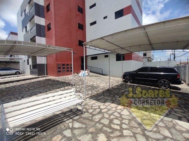 Cid. Universitário, 2 vagas, 3 quartos, suíte, 92m², R$ 980, Aluguel, Apartamento, João Pe - Foto 14
