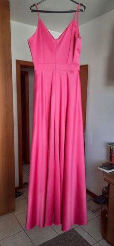 Vestido de festa Pink - usado apenas uma vez, novíssimo!