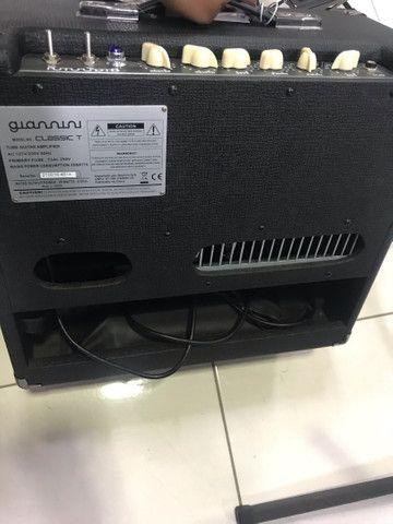 Amplificador Giannini 100% Valvulado  - Foto 3
