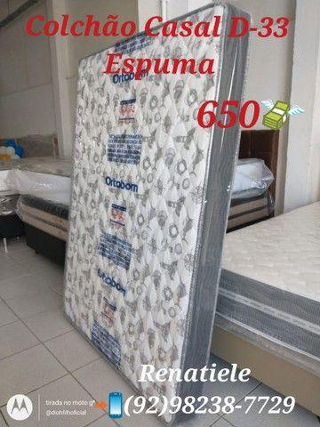 Colchão Casal D33 // ENTREGA IMEDIATA