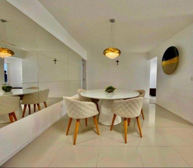 Apartamento com 3/4 + DCE, nascente - 140m² - Foto 4