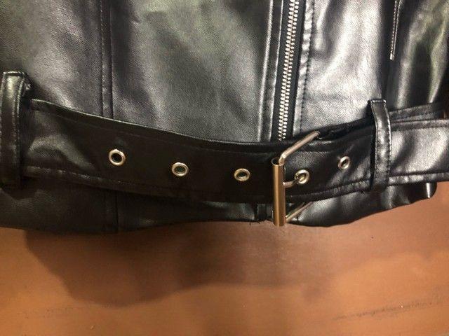 Jaqueta de couro SHEIN - Foto 4