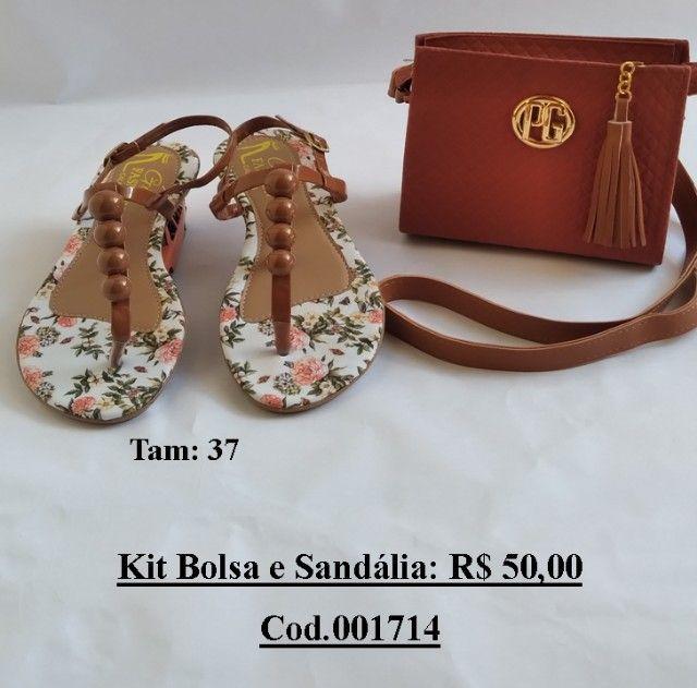 Kit Sandalia + Bolsa - Foto 4