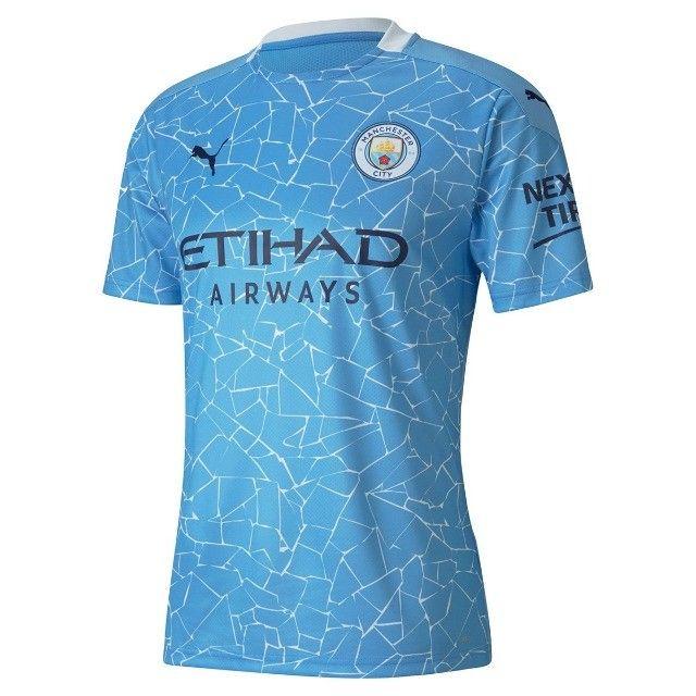 camisa manchester city azul - na embalagem - envio imediato