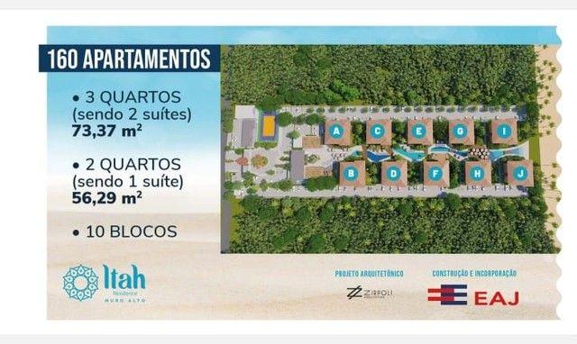 Flat com 2 dormitórios à venda, 56 m², térreo por R$ 630.000 - Praia Muro Alto, piscinas n - Foto 16