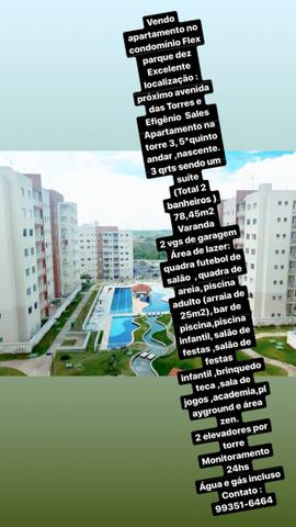 Apartamento Flex Parque dez