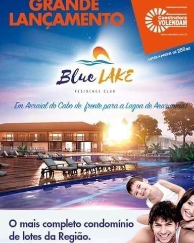 Blue lake lugar de ser feliz Arraial do cabo-condominio de lotes infraestrutura de clube