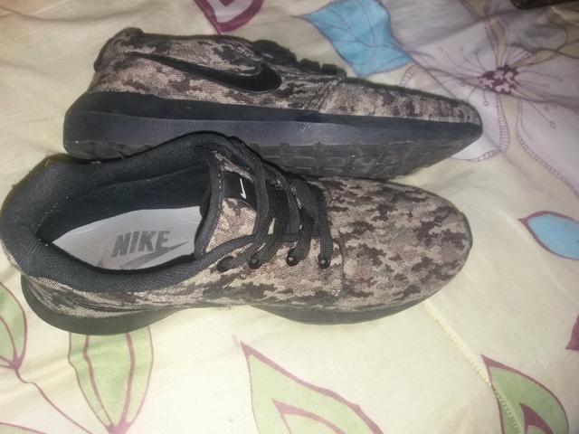 96af7e5b2e2 Tênis da nike   camuflado - Roupas e calçados - Vila Ester