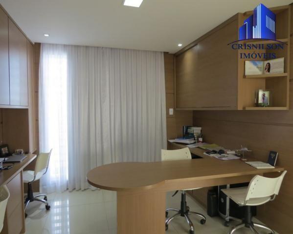 Casa à venda alphaville salvador ii, nova, r$ 2.400.000,00, piscina, espaço gourmet! - Foto 18