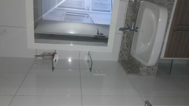 Apartamento Sala/Quarto Mobiliado, Locação na Ponta D'Areia, 2 Vagas Garagem - Foto 12