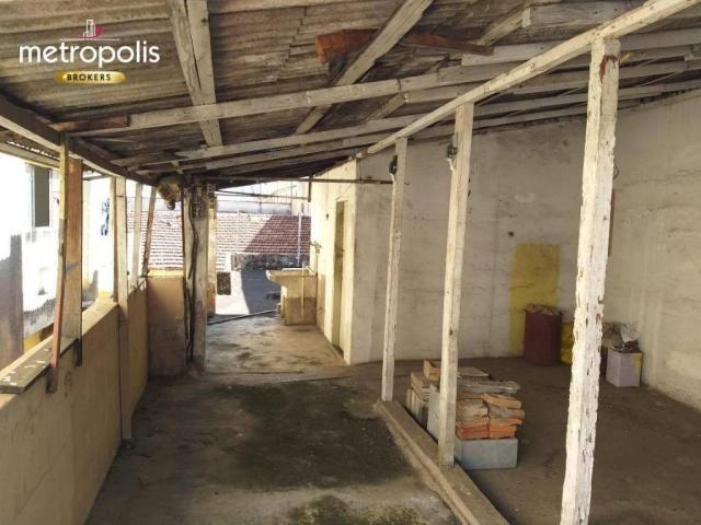 Terreno à venda, 200 m² por r$ 600.000,00 - santa paula - são caetano do sul/sp - Foto 12