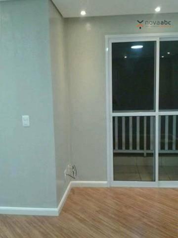 Apartamento para alugar, 47 m² por R$ 1.200,00/mês - Vila João Ramalho - Santo André/SP - Foto 2