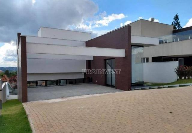 Casa com 3 dormitórios à venda, 340 m² por R$ 1.950.000,00 - Alphaville Granja Viana - Car