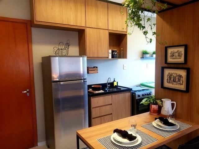 Ap de 2 quartos com suite reversível e quintal, Mario Covas- Vista do Bosque - Foto 3