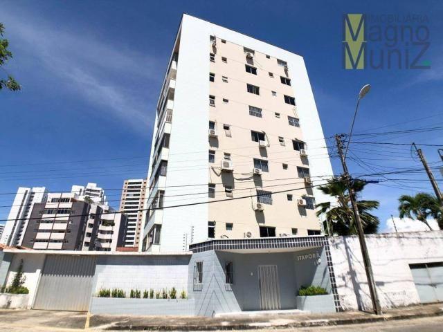 Apartamento projetado com 3 dormitórios, 2 vagas, à venda, 110 m², por r$ 275.000 - papicu