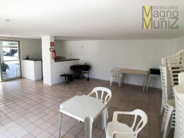 Apartamento projetado com 3 dormitórios, 2 vagas, à venda, 110 m², por r$ 275.000 - papicu - Foto 20