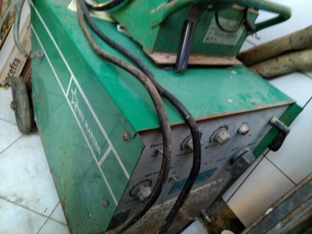 MS- Vendo Máquina de Solda TIG White Martins 360 AC/dc