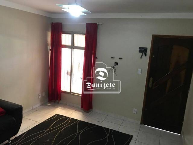 Sobrado com 2 dormitórios à venda, 135 m² por R$ 600.000,00 - Vila Curuçá - Santo André/SP - Foto 2