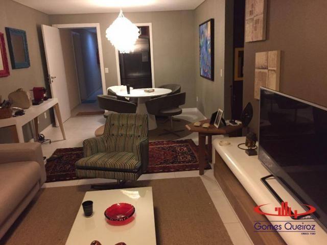 Apartamento com 3 dormitórios à venda, 118 m² - Porto das Dunas - Aquiraz/CE - Foto 8