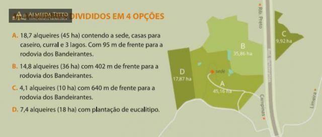 Maravilhosa Fazenda à Venda em Limeira/SP ? 45 alqueires ? À 150 km de São Paulo ? Confira - Foto 7